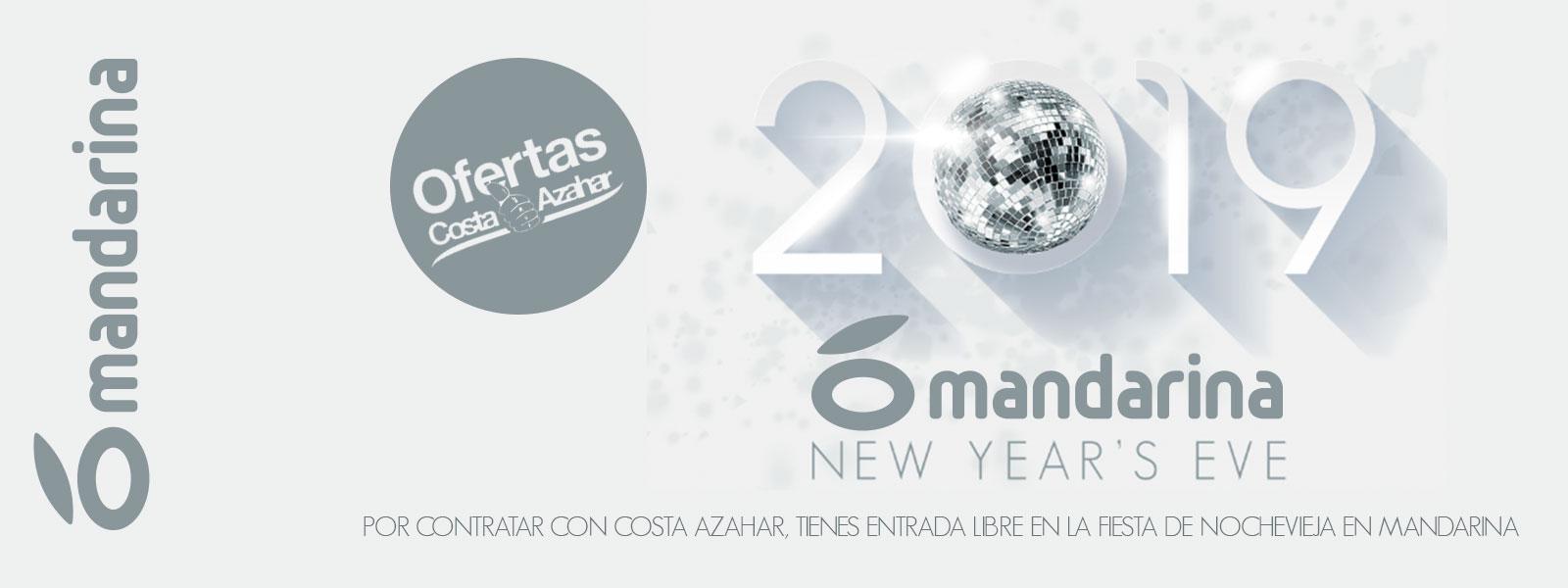 Fiesta Fin de año Mandarina